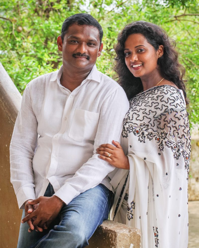 Rosie and Anand Thandu co-founders of Children of Faith Missions